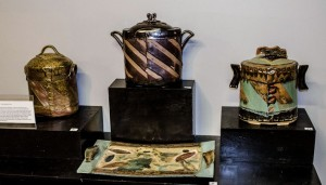 All three of Susan's urns.